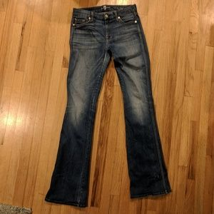 7 For All Mankind A Pocket Jean's